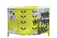 <p>Jimmie Martin, based in London creates the coolest handpainted furniture you've ever seen. FYI, it's definitely not for the faint hearted. [Photo: Jimmie Martin] </p>