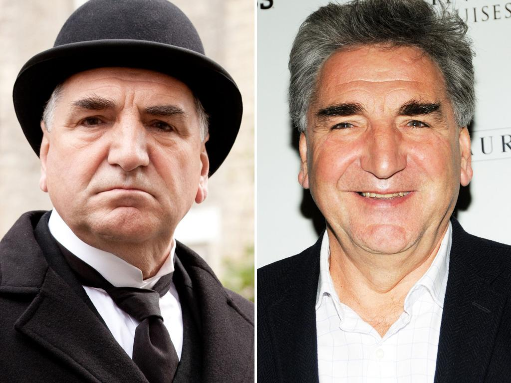 <p>Well, <strong>Jim Carter</strong> looks a lot happier on the red carpet than he ever has as the house's head butler Mr. Carson. It's nice to have someone else waiting on you for a change, isn't it?</p>