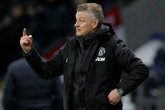 Ole Gunnar Solskjaer is facing the conundrum of whether to keep faith with some of the younger Manchester United talent in light of poor performances by senior members of the squad (AFP Photo/stringer)