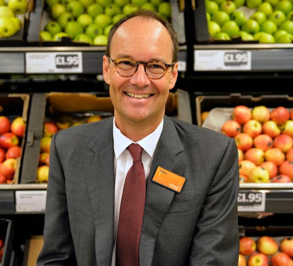 Mike Coupe, the former boss of Sainsbury's, will now lead New Look as its chairman (Sainsburys / PA) (PA Media)