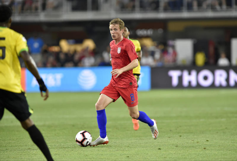 Midfielder Jackson Yueill was a big winner coming out of the U.S. men's national team's November matches. (Randy Litzinger/Getty)