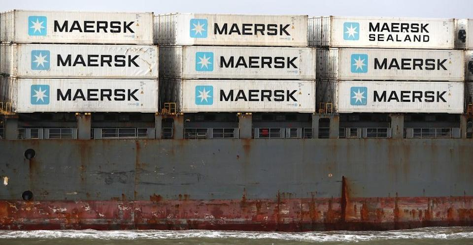 Maersk is diverting vessels away from UK ports because of a build-up of cargo (Andrew Matthews/PA) (PA Wire)