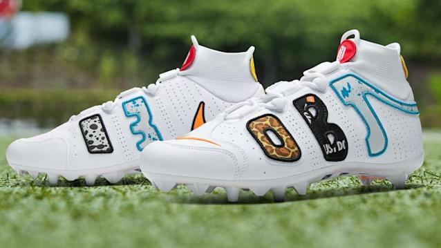 Odell Beckham Jr.'s new Nike cleats sell out minutes after release