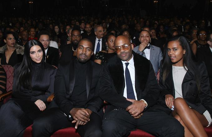 Kanye West Held a Special Screening of Dame Dash's 'Honor Up'