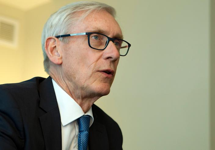 Wisconsin Gov. Tony Evers tried to get the primary election moved to June but his efforts failed.