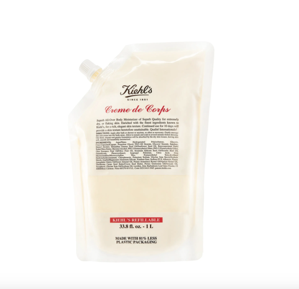 """<p><strong>Kiehl's</strong></p><p>nordstrom.com</p><p><a href=""""https://go.redirectingat.com?id=74968X1596630&url=https%3A%2F%2Fwww.nordstrom.com%2Fs%2Fkiehls-since-1851-creme-de-corps-body-moisturizer%2F2922446&sref=https%3A%2F%2Fwww.harpersbazaar.com%2Fbeauty%2Fg36991550%2Fnordstrom-anniversary-sale-beauty-deals%2F"""" rel=""""nofollow noopener"""" target=""""_blank"""" data-ylk=""""slk:Shop Now"""" class=""""link rapid-noclick-resp"""">Shop Now</a></p><p><strong>Sale: $49</strong></p><p><strong>After Sale: $76</strong></p><p>If your favorite part of visiting an Equinox is the Kiehl's body moisturizer (same), you're in luck. Anniversary Sale includes this refillable, massive 33.8 oz stock that'll have you more than covered now through peak dry skin season come winter. </p>"""