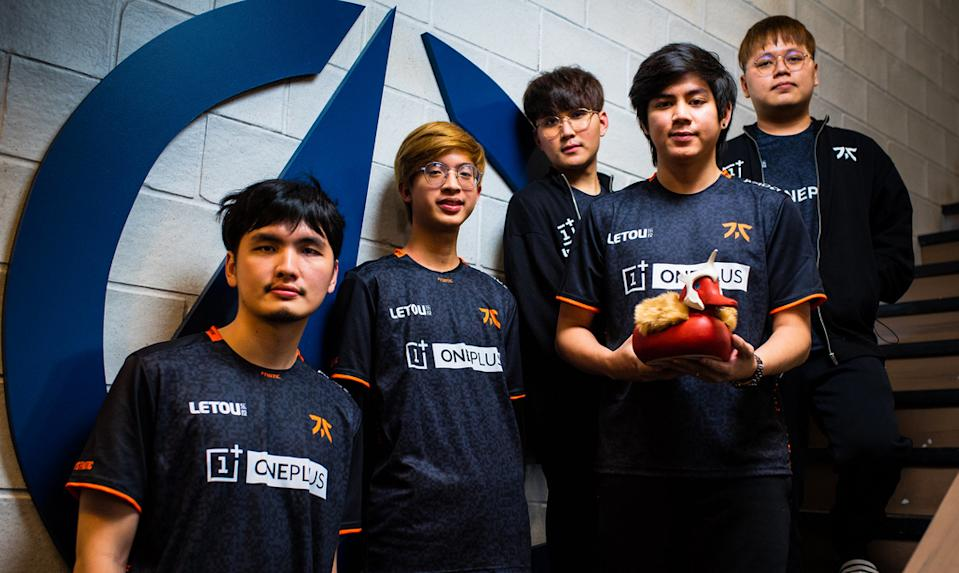 Fnatic (Photo: Beyond the Summit Twitter)