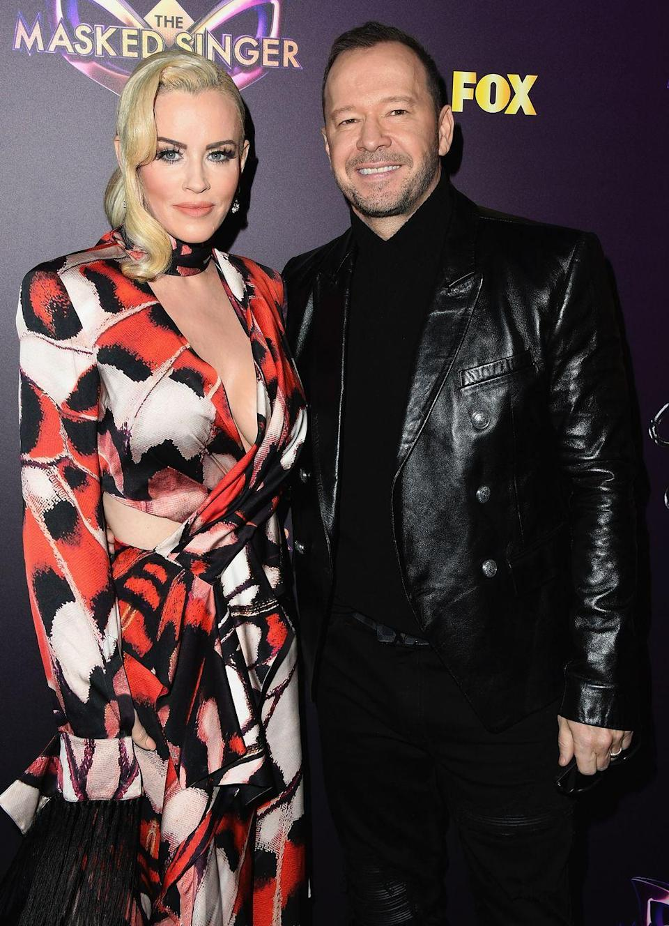 """<p>Years later, McCarthy met Wahlberg, who she married in 2014. They recently celebrated their fifth anniversary, but McCarthy told <em><a href=""""https://www.eonline.com/news/964032/inside-jenny-mccarthy-and-donnie-wahlberg-s-entirely-unexpected-love-story"""" rel=""""nofollow noopener"""" target=""""_blank"""" data-ylk=""""slk:E! News"""" class=""""link rapid-noclick-resp"""">E! News</a> </em>that they both feel like their love is still """"brand new.""""</p>"""