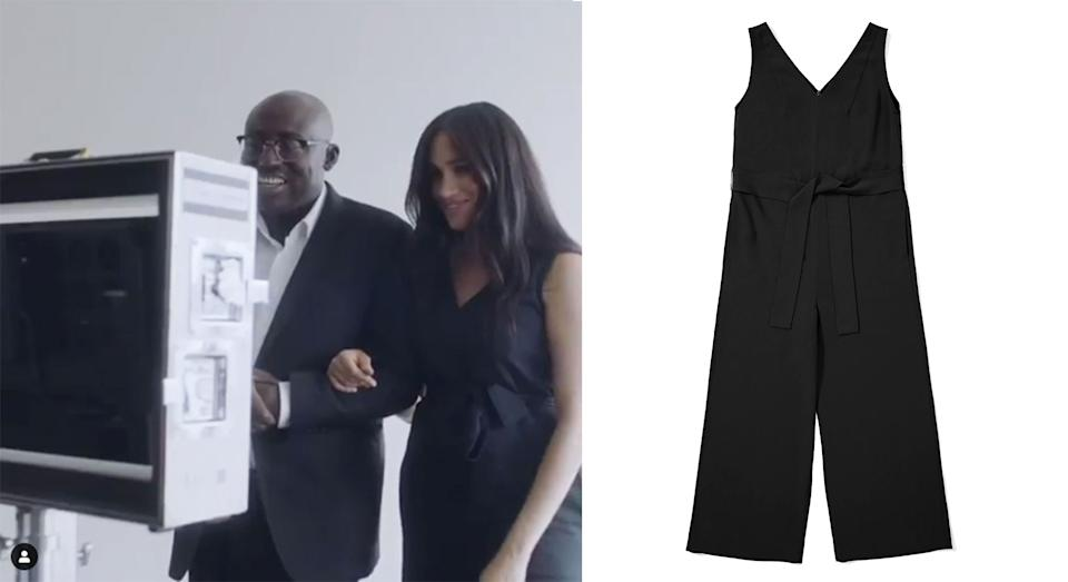 Meghan Markle's Everlane jumpsuit is still available online [Photo via @SussexRoyal]