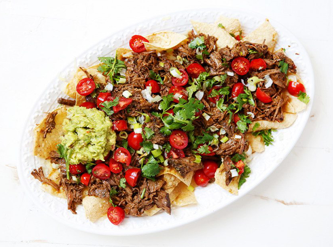 """<h2>1. Slow-Cooker Carne Asada</h2> <p>Enjoy over a salad or scoop into lettuce cups.</p> <p><a class=""""cta-button-link"""" href=""""https://lexiscleankitchen.com/slow-cooker-carne-asada/"""" target=""""_blank"""">Get the recipe</a></p>"""