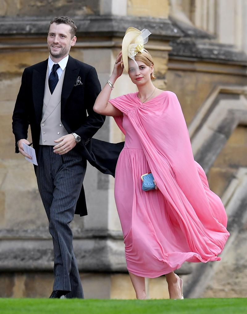 Princess Eugenie\'s Wedding Decor Was Briefly Knocked Over Due to ...