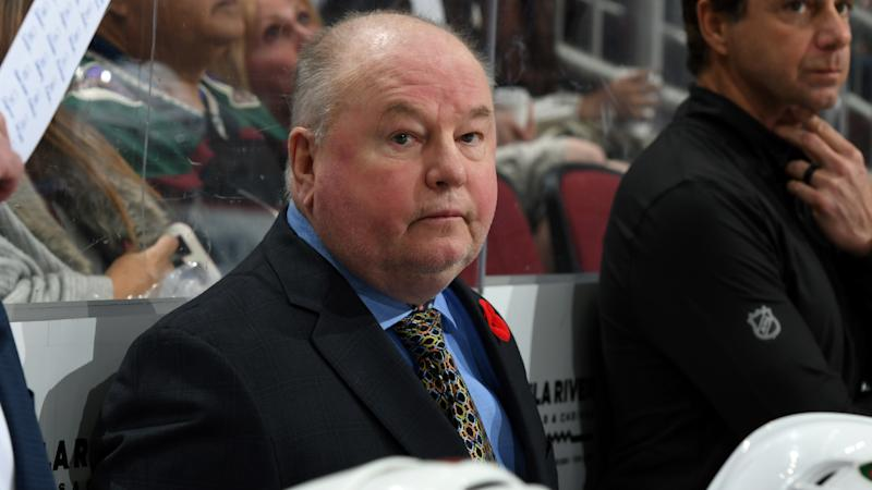 The Minnesota Wild fired head coach Bruce Boudreau. (Photo by Norm Hall/NHLI via Getty Images)