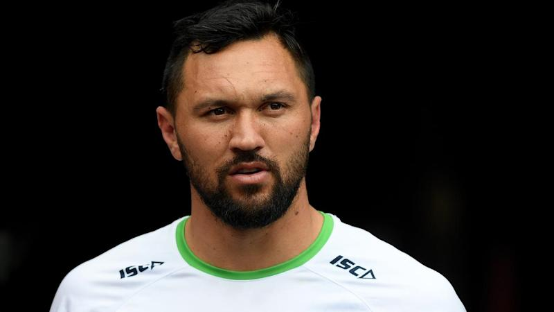 Canberra's Jordan Rapana is aiming to impress and extend his NRL deal beyond this season