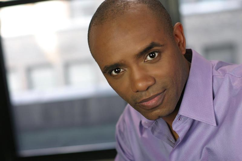 """This undated photo released by Jeffrey Richards Associates shows Nathaniel Stampley, who will lead the national tour of the musical """"Porgy and Bess,"""" that kicks off a 14-state tour this weekend in San Francisco. (AP Photo/Jeffrey Richards Associates)"""
