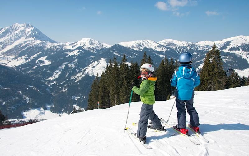 It's not all smiles on hectic family ski holidays - BPS