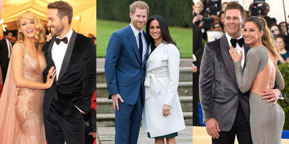 <p>Given the glamour, it's easy to assume that the life of an A-lister is in no way relatable, but one place we can all find common-ground on: the dating game. Ahead are all the celebrity couples who found love through a forced set-up.</p>