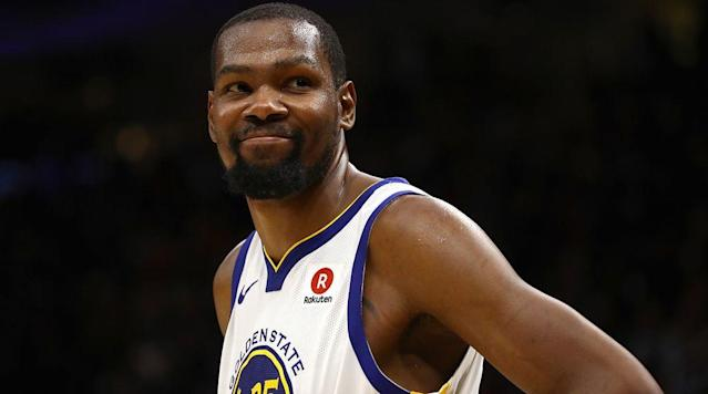 The more people try to pretend Kevin Durant's Warriors are a real basketball team, the more insulting they become. While it appears KD will stay in the Bay this summer, the NBA would be a lot more interesting if he moved on.