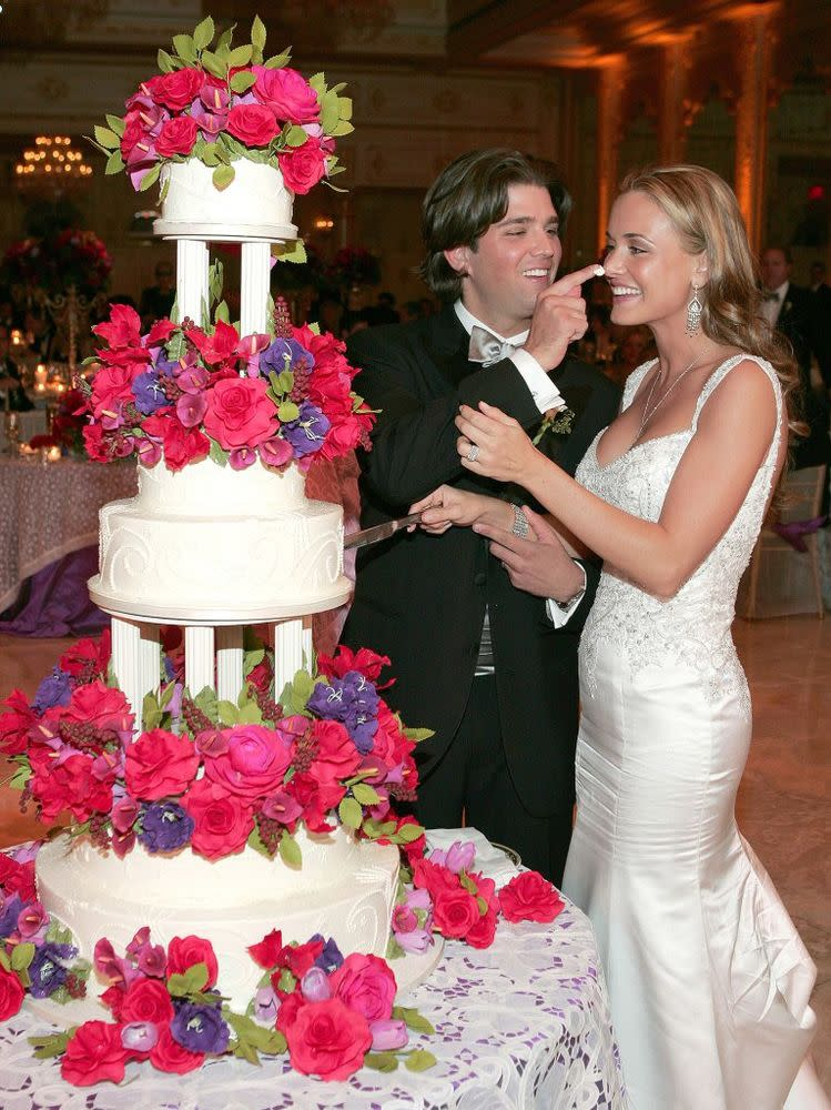 Vanessa and Donald Trump Jr. at their wedding