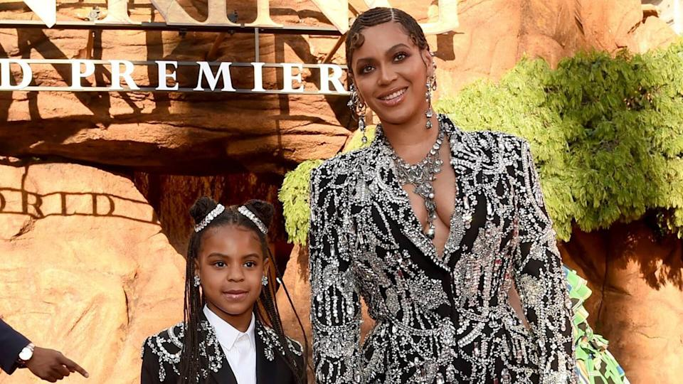 Mandatory Credit: Photo by Chris Pizzello/Invision/AP/Shutterstock (10331317c)Beyonce, Blue Ivy Carter.