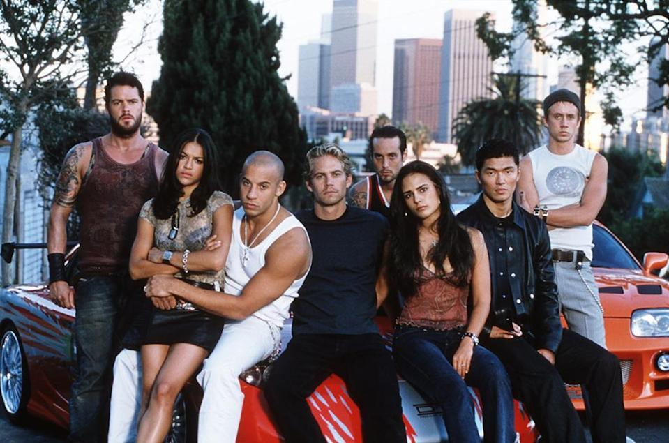 The Fast and the Furious cast, 2001