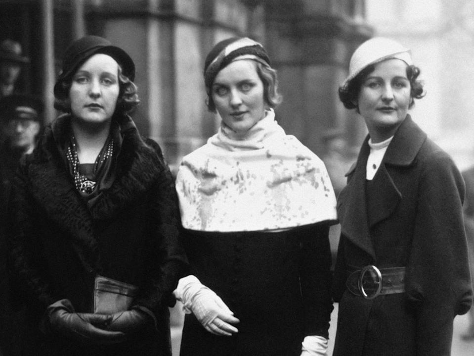 The Mitford family was divided over fascism with two of Nancy's sisters - Diana and Unity - having close ties to the NazisGetty Images