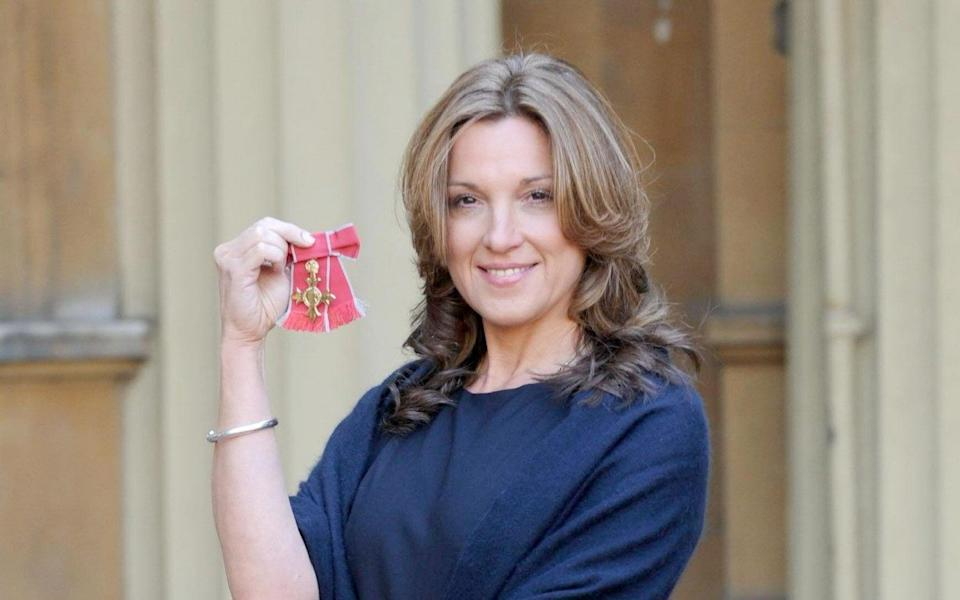 Broccoli in 2008, after receiving her OBE from The Queen - PA