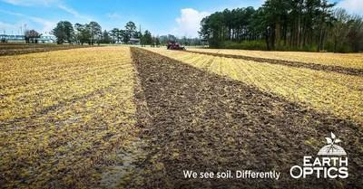 The EarthOptics TillMapper™ software generates 3D maps of soil compaction to help farmers decide if, when, where and how deep to apply tillage. Tillage prescriptions can be exported as variable-depth tillage or binary till/no-till guides.