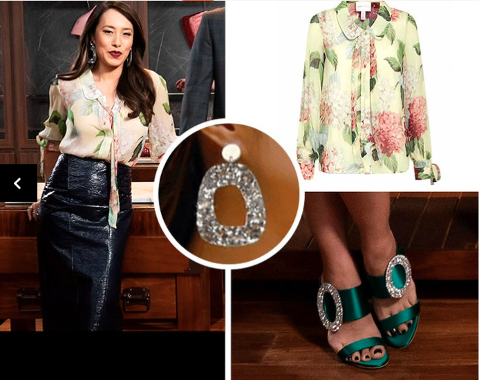 What Melissa Leong wore on MasterChef