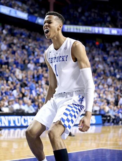 Will Skal Labissiere and the Wildcats keep their momentum going in the SEC tournament? (Getty)