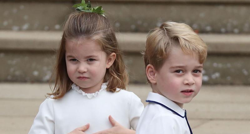 Princess Charlotte will join her big brother George at the same school this September [Photo: PA]