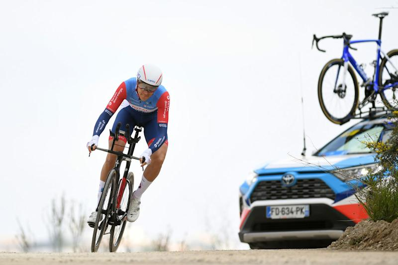 MIJAS SPAIN FEBRUARY 23 Niki Terpstra of The Netherlands Team Total Direct Energie during the 66th Vuelta a Andaluca Ruta del Sol 2020 Stage 5 a 13km Individual Time Trial from Mijas to Mijas 672m VCANDALUCIA UCIProSeries ITT on February 23 2020 in Mijas Spain Photo by David RamosGetty Images