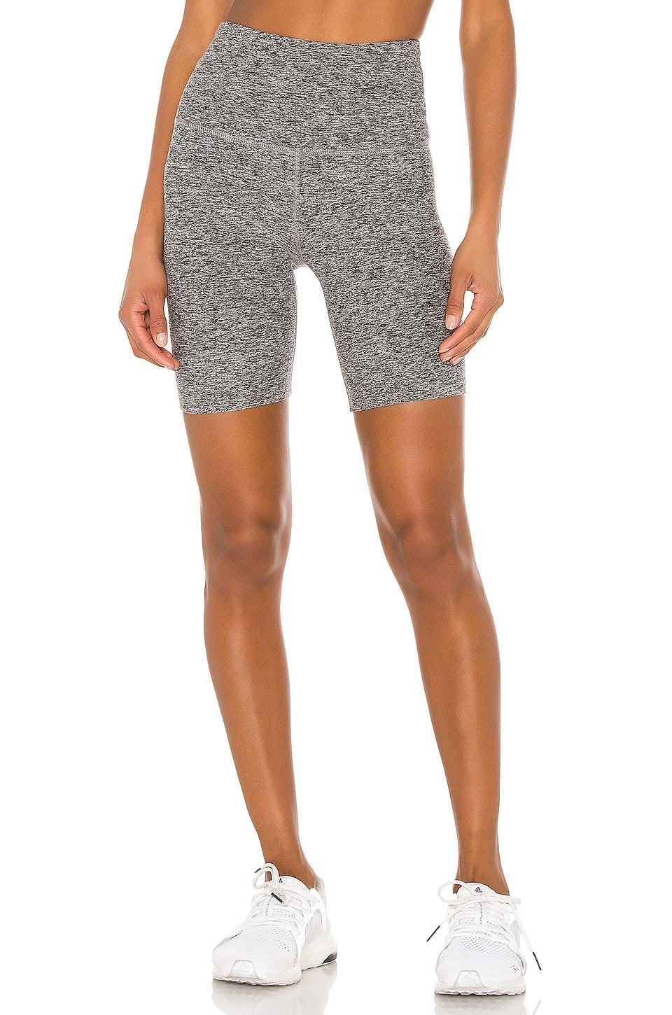 <p>These <span>Beyond Yoga Spacedye High Waisted Biker Shorts</span> ($68) are super comfortable and go with everything.</p>