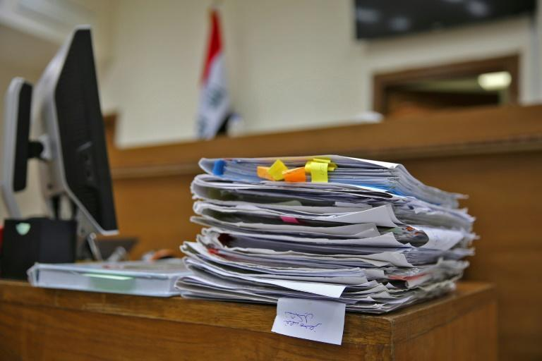 Iraq has convicted more than 500 foreign men and women of joining IS since the start of 2018 (AFP Photo/SABAH ARAR)