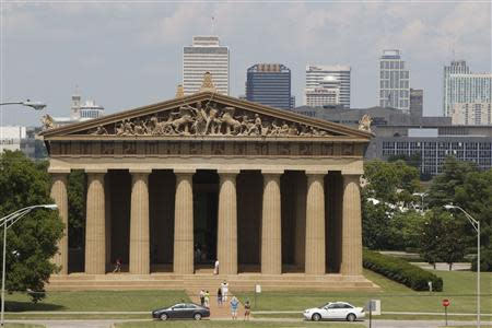 The Parthenon in Nashville, Tennessee June 19, 2013. REUTERS/Harrison McClary