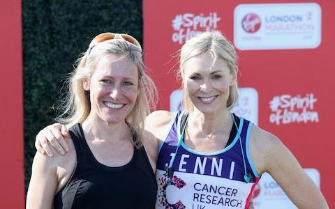 Sophie Raworth and Jenni Falconer - Credit: GETTY IMAGES