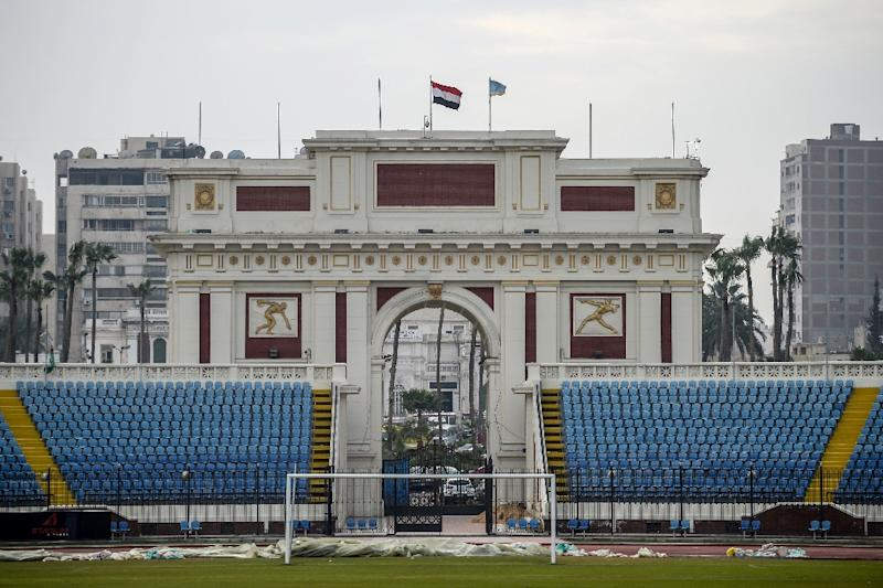 The Alexandria Stadium in Egypt's second city will host some of the matches from the 2019 Africa Cup of Nations set to begin on Friday (AFP Photo/Mohamed el-Shahed)
