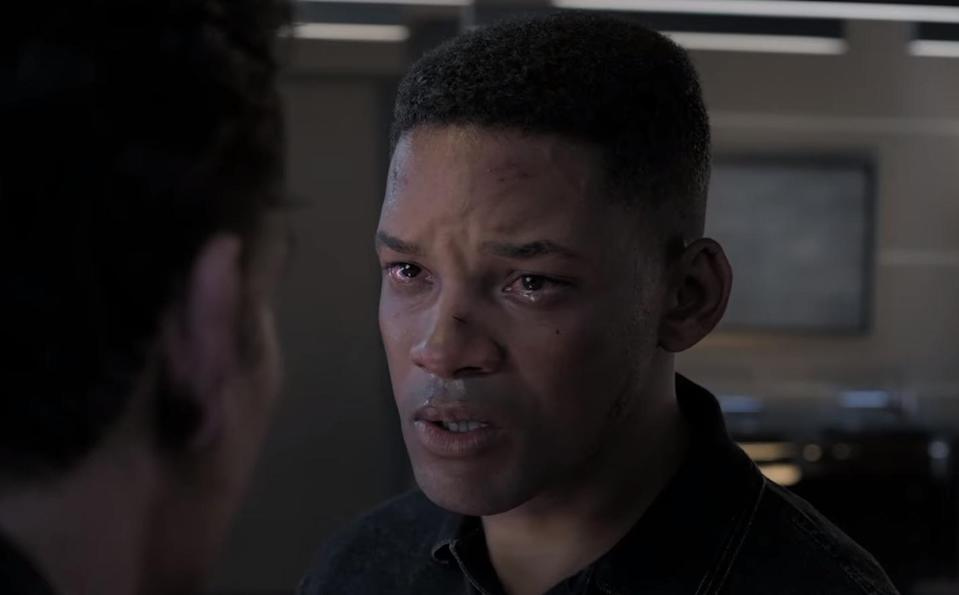 Will Smith has been digitally de-aged for his new role in Ang Lee's sci-fi thriller 'Gemini Man'. (Credit: Paramount Pictures)