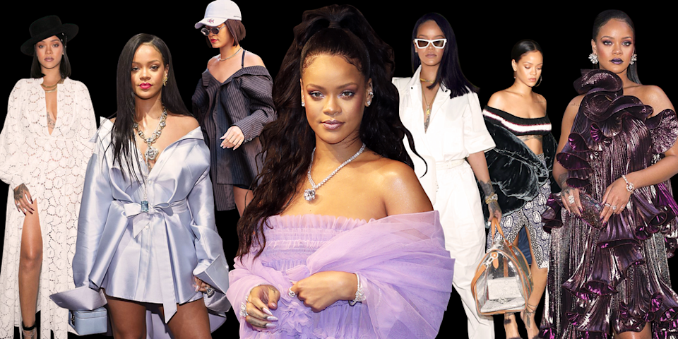"<p>Rihanna is just as much a sartorial risk taker as she is a musical hit maker. Leave it to the singer to step out in a sheer dress with nothing underneath, an ensemble made entirely of pink fur, or her special edition chaps-style Manolo boots under only a t-shirt.</p><p>She may crush the <a href=""http://www.harpersbazaar.com/celebrity/red-carpet-dresses/g2150/rihanna-style-and-beauty-transformation/"" rel=""nofollow noopener"" target=""_blank"" data-ylk=""slk:red carpet"" class=""link rapid-noclick-resp"">red carpet</a> each time she walks on it (the 2014 CFDA's, anyone?) but don't let that distract from her equally impressive streetwear. Here, keep up to date on her boldest looks. </p>"