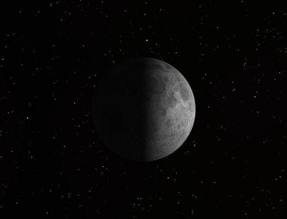 On Saturday, Sept. 22, the first quarter moon rises around 2:25 p.m. and sets around 12:15 a.m. It dominates the evening sky.