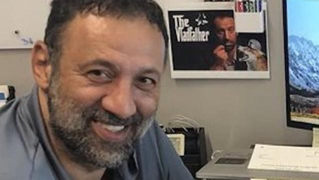 "Vlade Divac is ""The Vladfather."" (Twitter)"