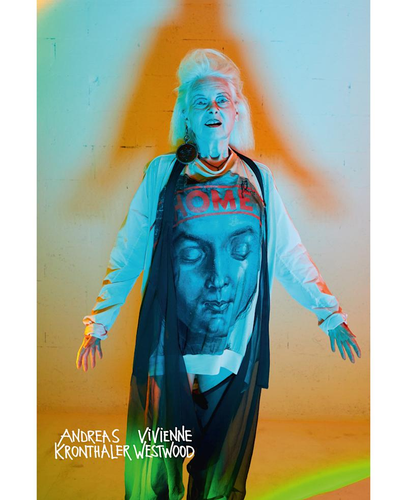 Vivienne Westwood stars in her label's latest campaign. [Photo: Vivienne Westwood]