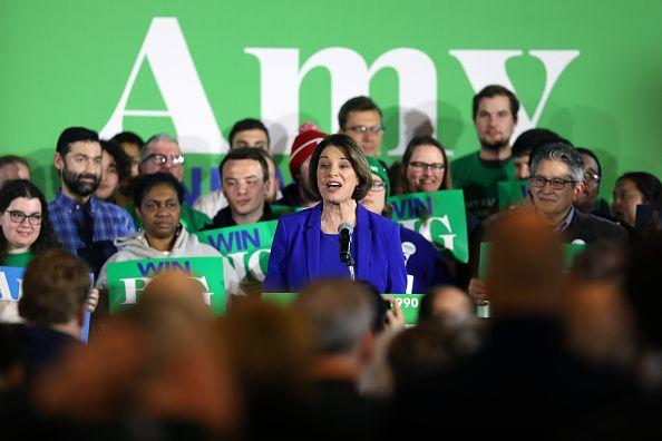 Klobuchar Seeks Boost in Next Races From New Hampshire Surprise