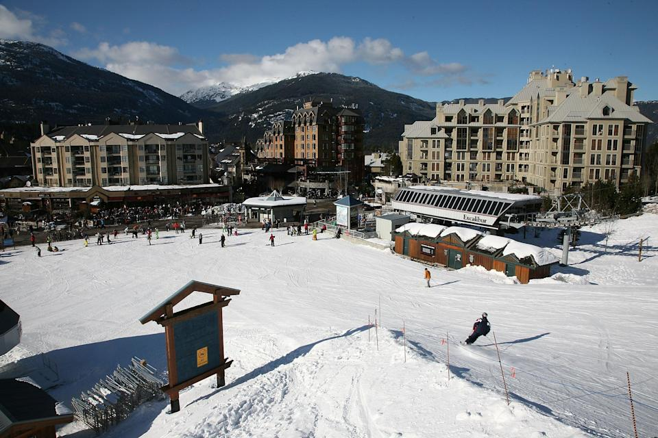<p>A general view of Whistler Village in Whister, British Columbia, Canada. </p> (Photo by Jed Jacobsohn/Getty Images)