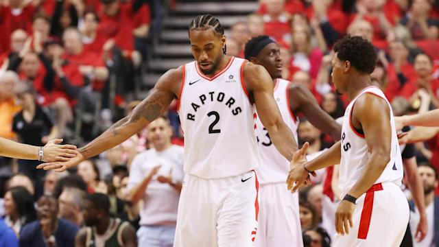 Toronto topped Milwaukee 118-112 in double overtime, cutting the Bucks' series lead to 2-1 in the important first leg of its home stand.