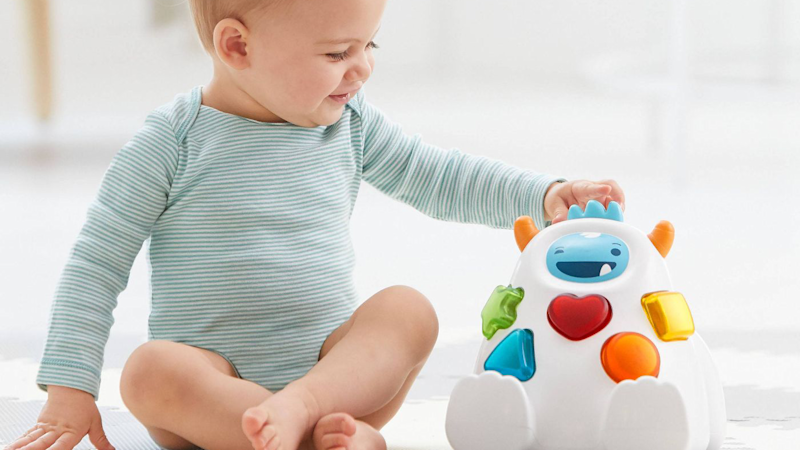 Best gifts for babies: A shape-sorting Yeti