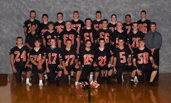 This is almost certainly the last Cooperstown Central Redskins football team — CooperstownCS.org