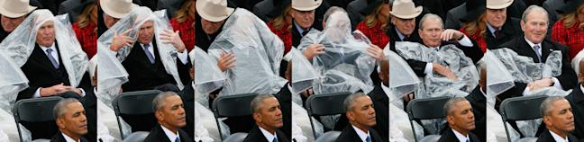 George W. Bush poncho debacle