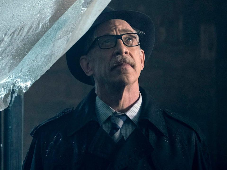 """J.K. Simmons in """"Justice League."""""""