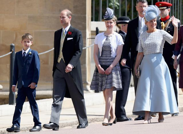 They have two children - Louise and James. (Getty Images)