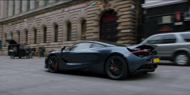 Hobbs drives a McClaren (Credit: Universal)